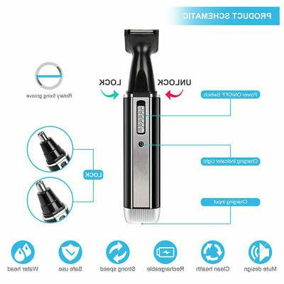 Rechargeable Men Nose Hair Electric Cordless