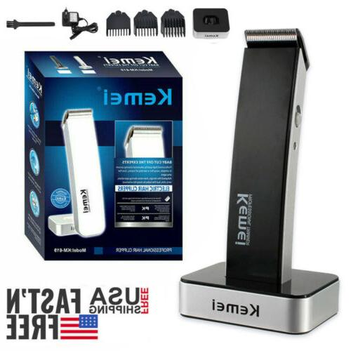 rechargeable men electric hair clipper shaver beard