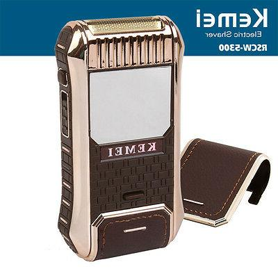 rechargeable shaver beard trimmer electric razor personal