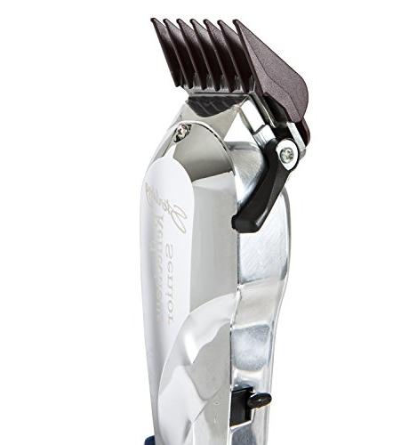 Wahl Professional Reflections Clipper with Metal and Chrome v9000 Fades and Blends Great for Barbers and