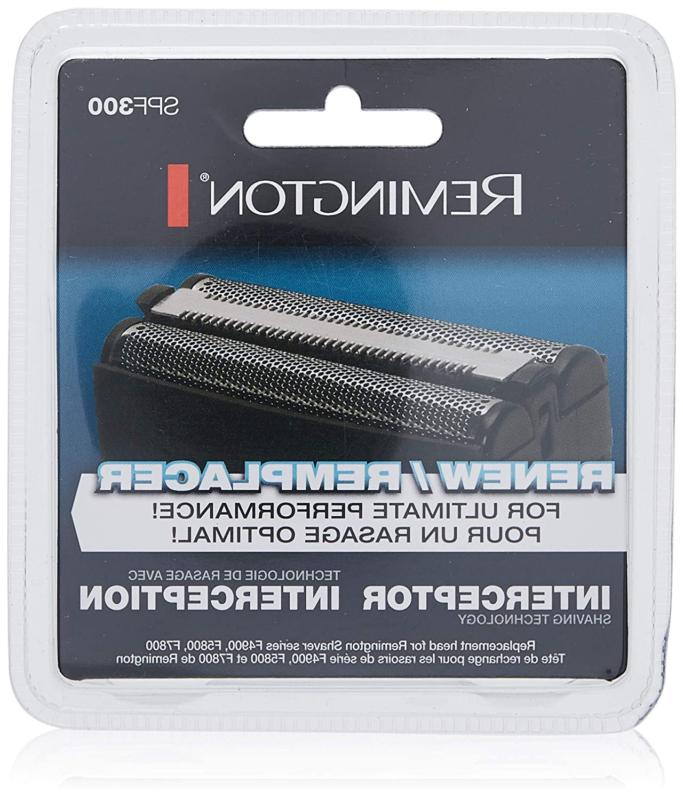 Remington SPF-300 Screens and Cutters for Shavers F4900 F580