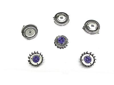 Replacement Shaver Heads fit Norelco HQ8 Spectra, Sensotec,