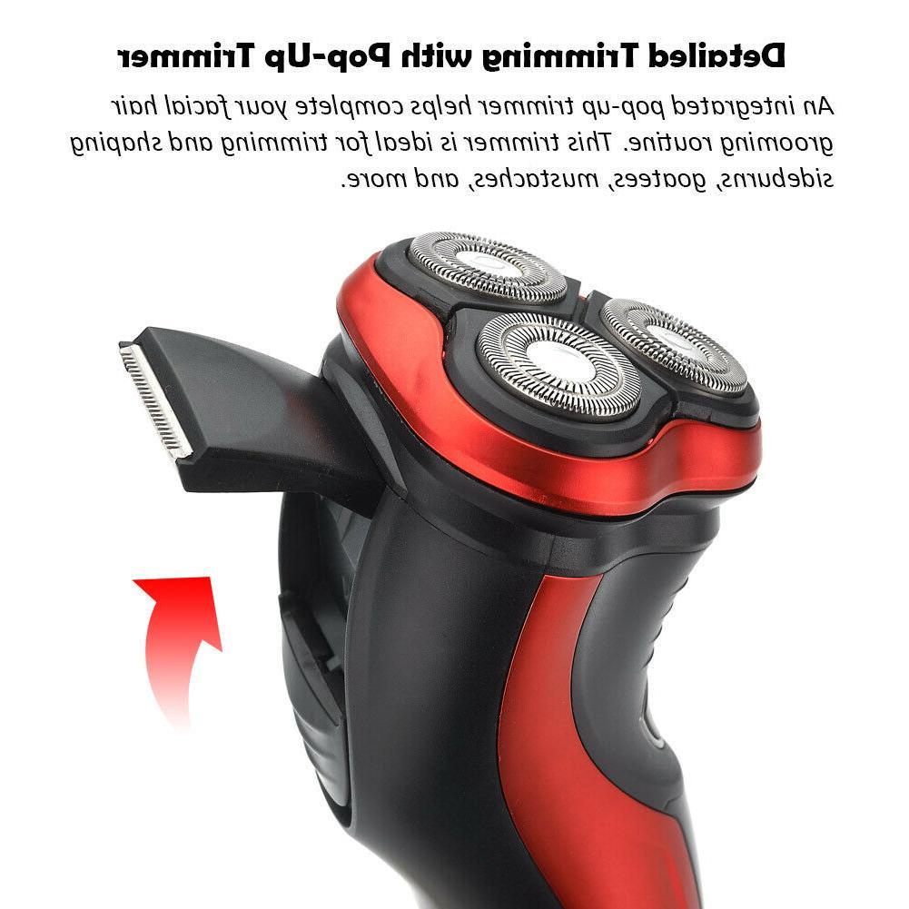 FARI Electric Razor Shaver with Pop-up Trimmer, Wet & Dry Razor