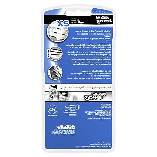 Gillette Sensor3 Disposable Razor, 8 Count, Razors
