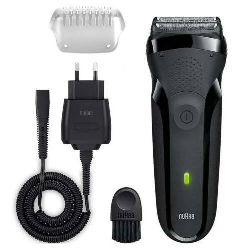 Braun 3 Men's Shaver/Rechargeable Black