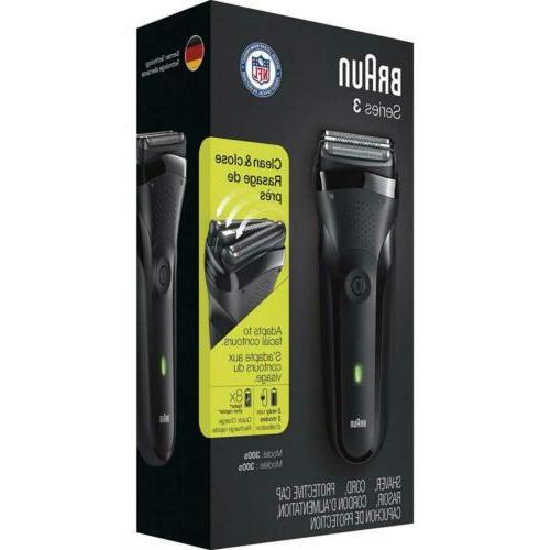 Braun Series 3 Men's Electric Black