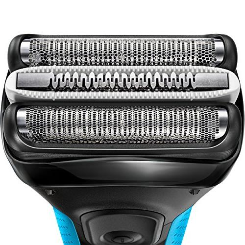Braun Electric Shaver, 3 ProSkin 3040s Electric Razor / Foil Rechargeable, Wet &