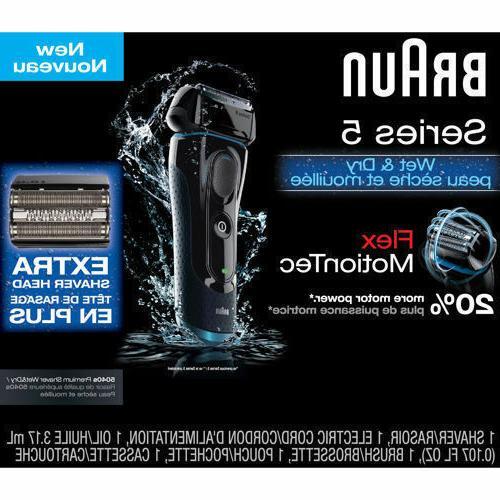 series 5 5040s premium shaver wet