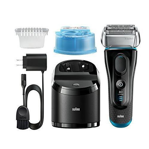 Braun Men / Shaver, Series 5 5190cc, Rechargeable with Clean Charge Station