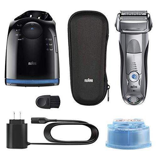 Braun Shaver, Foil Shaver/Electric with Clean Charge Cordless