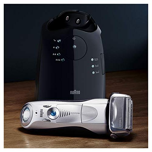 Braun 7 Men's Foil Shaver/Electric Clean & Charge Station, Cordless