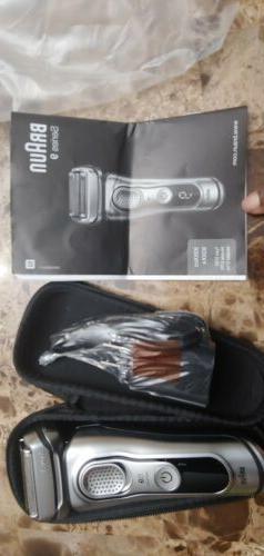 Braun Series S9 Wet/Dry Electric Shaver 93xxcc/93xxs w/Charg