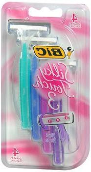 Bic Silky Touch 3 Womens Size 4ct Bic Silky Touch 3 Womens R