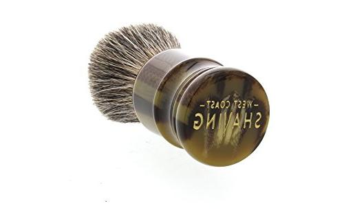 West 100% Silvertip Quality Shaving with Dense Knot.