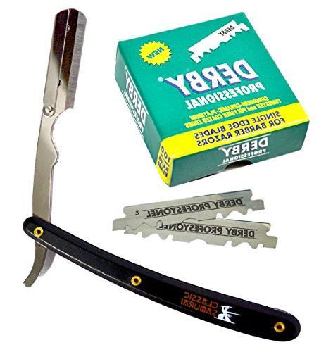 stainless steel barber straight edge