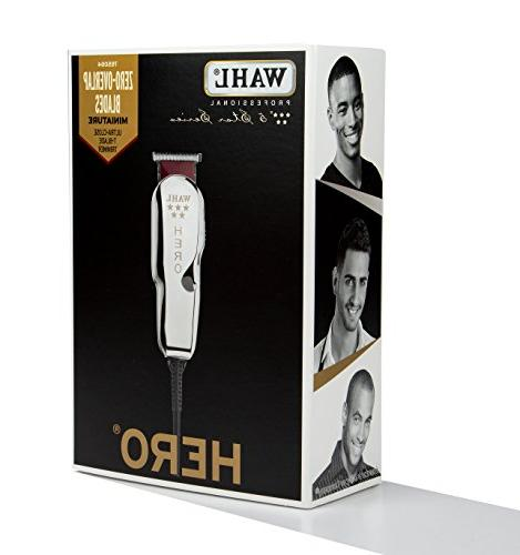 Wahl Professional 5-Star Corded T Blade Trimmer #8991 Great for Barbers – Oil,