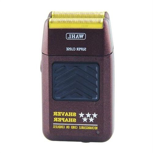 star series rechargeable shaver shaper