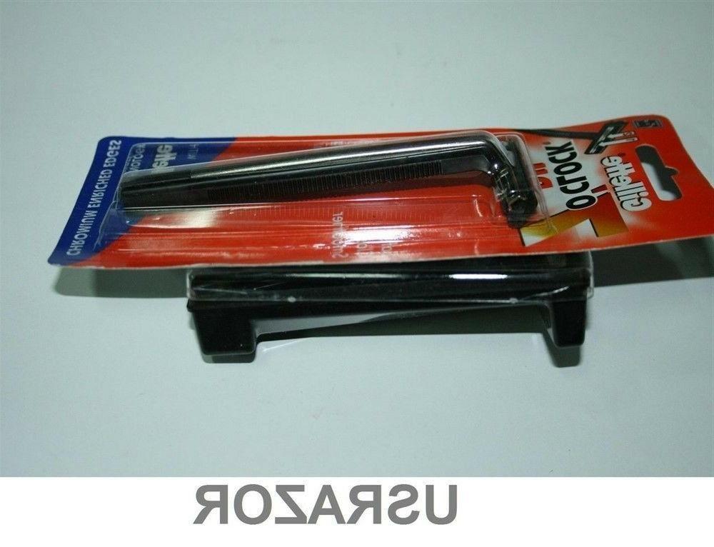 Gillette Trac Razor cartridge fits Schick Shaver