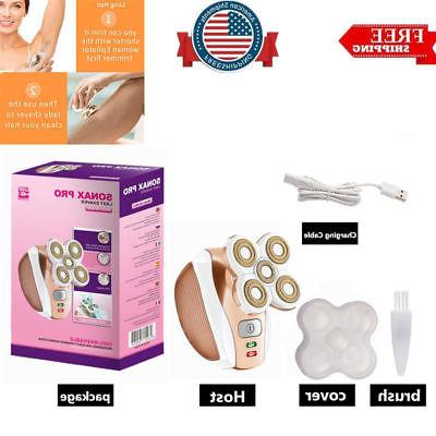 unisex legs hair removal shaver rechargeable painless