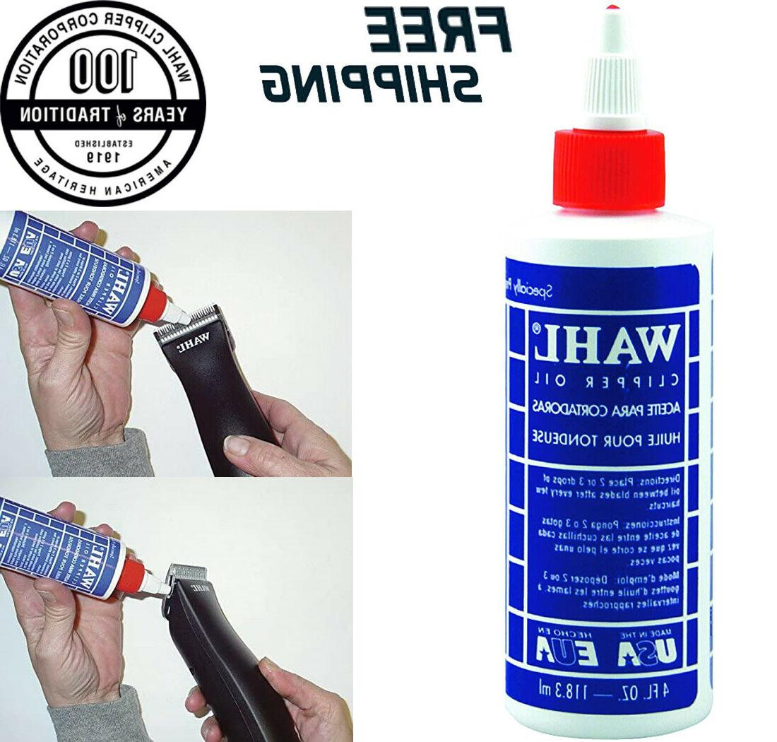 wahl lubricated blade oil for hair clipper
