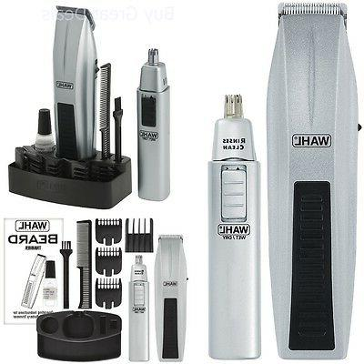 Wahl	 Wireless Men's Beard, Ear and NoseTrimmer Kit