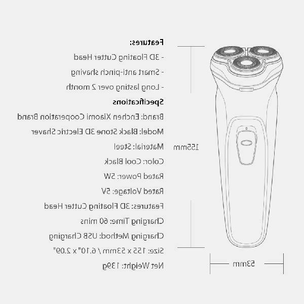 Xiaomi Electric Shaver Enchen Facial