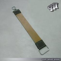 DDP Professional Leather Barber Strop Straight Razor Sharpen