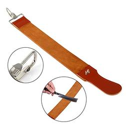 Leather Razor Strop Shaving Sharpener Strap Barber Straight