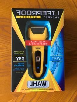 "Wahl "" LIFEPROOF"" Shaver 7061-100 Wet Dry Razor"