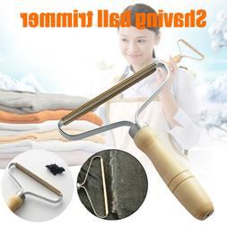 Lint Remover Clothes Fuzz Shaver Portable Metal Fabrics Clea