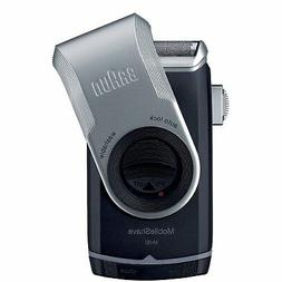 Braun M90 Mobile Shaver for Precision Trimming, Great for Tr