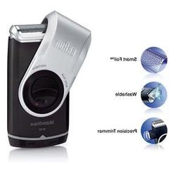 Braun M90 Men Mobile Shaver with Precision Trimmer New Great