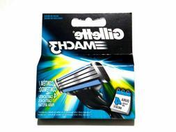 Gillette Mach3 Razor Shaver Blade Cartridges Refills 10 Coun