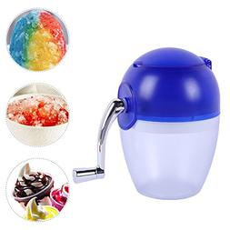 Yunhigh Manual Ice Crusher Hand Crank Ice Grinder Portable H