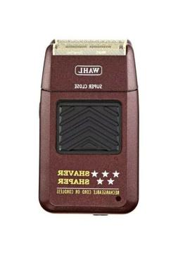 MAROON Wahl 8061 Cord/Cordless Rechargeable Men's Electric S