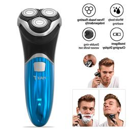 MAX-T Mens Rotary Waterproof Electric Razor Shaver Pop-up Tr