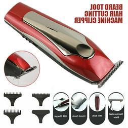 Men Electric Hair Cutting Machine Clipper Trimmer Beard Barb
