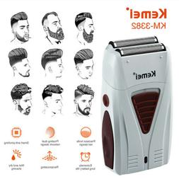 Men Electric Shaver Razor Beard Trimmer Hair Shaving Machine
