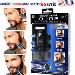 Men Micro Touch SOLO Rechargeable Trimmer Razor Shaver Edges