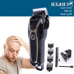 SURKER Men Professional LED Cordless Hair Clipper Trimmer Ki