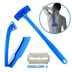 Men's Back Hair Removal and Body Shaver, Foldable Easy to Us