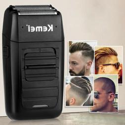 Kemei Men's Electric Dual Foil Shaver Comfort Series Beard T