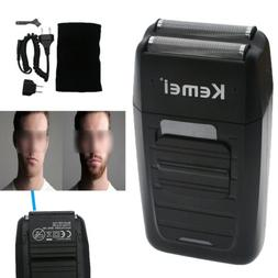 Men's Electric Dual Foil Shaver Rechargeable Beard Trimmer R