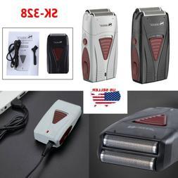SURKER Men's Electric Shaver Cordless Dual Foil USB Recharge