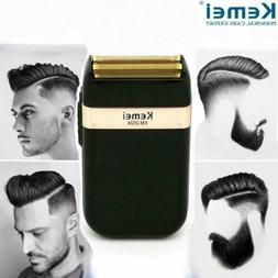 Men Shaver Trimmer Razor USB Electric Rechargeable Shaving M
