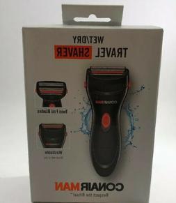 Men's Conair Man Travel Shaver Wet/Dry SHV22R