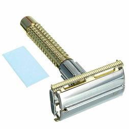 Men's Safety Handheld Manual Shaver +Double Edge Safety Blad