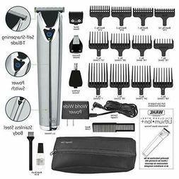 Wahl Men's Stainless Steel Lithium Ion Trimmer, Clippers, &