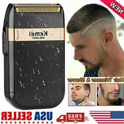 Men's USB Electric Shaver Trimmer Razor Rechargeable Hair Be