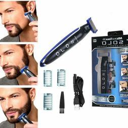 men solo usb rechargeable hair trimmer razor